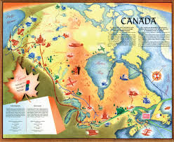 Us Navy Map Of Future America by This Beautiful Map Shows What Canada U0027s Future Looked Like In 1955