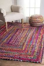 Small Round Braided Rugs Round Braided Rug Ebay