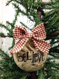 burlap ornaments bazaraurorita