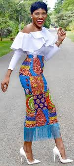 ghana chitenge dresses african wear long skirt african fashion ankara kitenge african