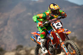 ama motocross numbers jessy nelson lucky number 13 transworld motocross