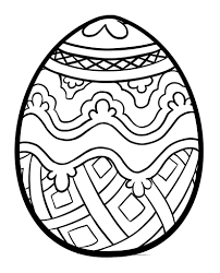 pysanky egg coloring page easter eggs coloring pages getcoloringpages com