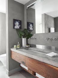 Bathroom Sink Modern 14 Reasons To Use Concrete Countertops In Your Bathroom Bathroom