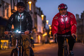 light bike jacket visijax the jacket that indicates for you in the dark video