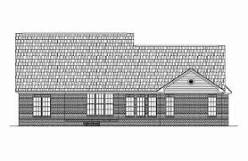 Luxury Colonial House Plans Colonial House Plans 2400 Sq Ft Luxury Colonial Style House Plan 4