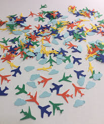 airplane baby shower decorations airplane birthday decorations airplane confetti boys birthday