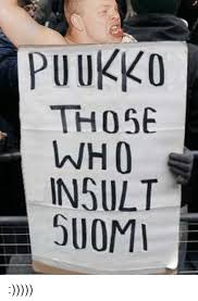 Suomi Memes - puukko those lnh 0 insult suomi insulting meme on conservative memes