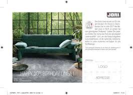 M El R En Wohnzimmer Jori Feiert Den 20 Geburtstag Seines Sofas Linea Mit Einer