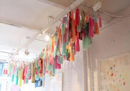 mylar tissue paper confettisystem tassel garland multicolor