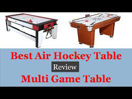 air hockey table reviews best air hockey table top 10 multi game table reviews youtube