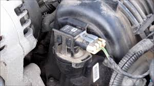 changing map and maf sensors in a 2002 pontiac grand prix 3800