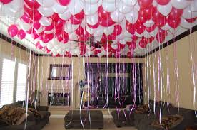 how to make birthday decoration at home simple birthday room decoration ideas home design great gallery in