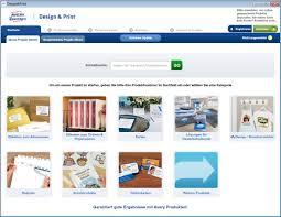 kostenloses design programm avery zweckform design print chip