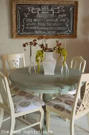 Annie Sloan Duck Egg Blue by The Poor Sophisticate Duck Egg Blue Kitchen Table Transformation