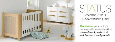 3 In 1 Convertible Cribs by Amazon Com Status Roland 3 In 1 Convertible Crib White Natural