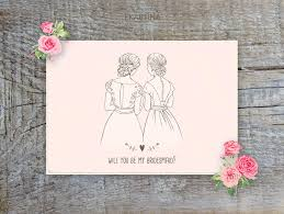 will you be my bridesmaid invite will you be my bridesmaid card printable vintage