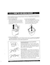 How To Use The Bread Machine Pdf Manual For Sanyo Other Sbm 20 Bread Makers