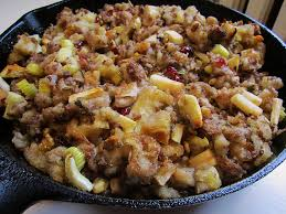 home foodie thanksgiving recipes sausage and apple wine