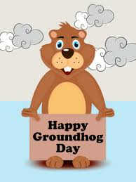 groundhog day cards comic designed groundhog day card birthday greeting cards by davia