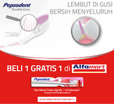 Pasta Gigi Di Alfamart pepsodent promo beli 1 gratis 1 di alfamart giladiskon indonesia