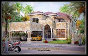 mediterranean exterior front elevation plan 135 166 houseplanscom