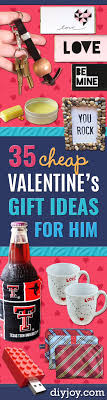 cheap valentines gifts for him 35 cheap s gift ideas for him diy