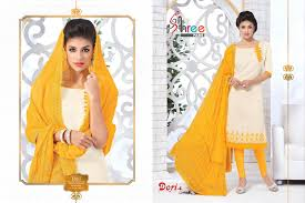 dori vol 4 simple u0026 sober looking chanderi silk churidar salwar