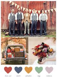 fall wedding color palette pretty autumn palette ideas foryourparty wedding and