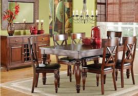 rooms to go dining sets for almost any dining occasion the calistoga collection