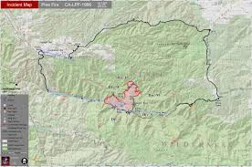 Wildfire Map National by Mules Horses Help Crews Fighting Los Padres Fire