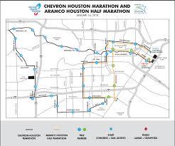 Buffalo Bayou Park Map Where To Watch The 2018 Houston Marathon It U0027s Not Hou It U0027s Me