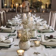Christmas Table Decoration Uk by Hessian Christmas Table Decorations U2013 Decoration Image Idea