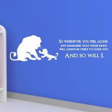 34 disney quote wall decals wall quotes disney signs disney lion king quote disney children kids wall sticker decal wallart