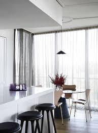 studio tate renovates a melbourne penthouse in la glamour style