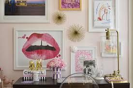 Girly Office Desk Accessories My Very Pink Desk Murphy U0027s Law