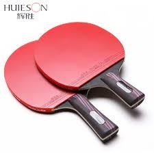 quality table tennis bats huieson carbon fiber table tennis racket double face pimples in