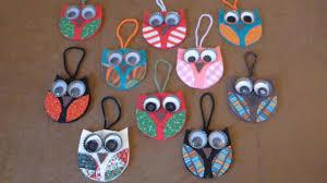 easy owl ornaments