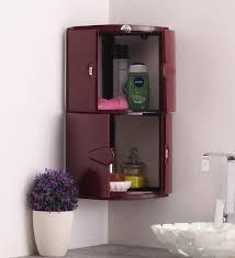 Nilkamal Kitchen Furniture Nilkamal 2 Door Corner Cabinet Maroon Homegenic