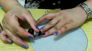 how to apply nail polish with matte top coat youtube