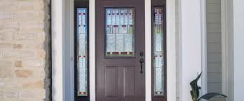 Metal Front Doors For Homes With Glass by Entry Doors Traditions Therma Tru