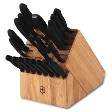 classic 22 piece knife block set by victorinox at swiss knife shop swiss classic 22 piece knife block set by victorinox at swiss knife shop