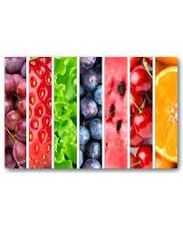 tableau en verre pour cuisine tableau pour cuisine les fruits coloracs tableau pour cuisine en