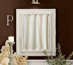 Bathroom Cabinets With Lights Sonoma Recessed Medicine Cabinet Pottery Barn