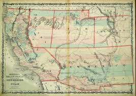 Usa Map 1860 by Washington County Maps And Charts