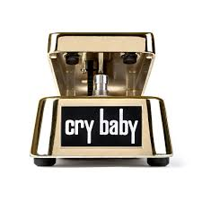 50th anniversary gold plate jim dunlop 50th anniversary gold plated cry baby wah at gear4music