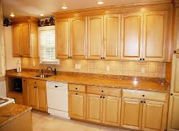 kitchen ideas with maple cabinets golden oak cabinets with white appliances maple arched kitchen