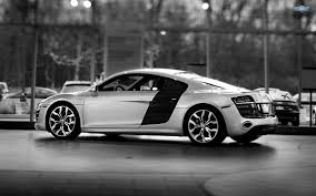 Audi R8 White And Black - audi r8 v10 wallpapers wallpaper cave