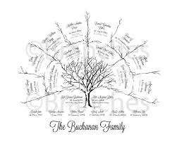 ancestral family tree 3 generation name