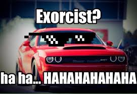 Demon Memes - the dodge demon