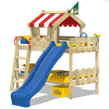 wooden beds for children online store wickey co uk bunk bed with slide wickey crazy circus